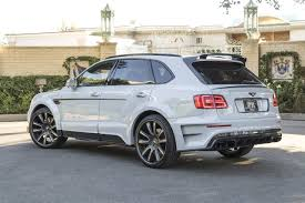 mansory bentley mansory does its thing on the bentley bentayga performancedrive
