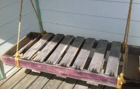 33 pallet swings u2013 chair bed and bench seating plans pallet
