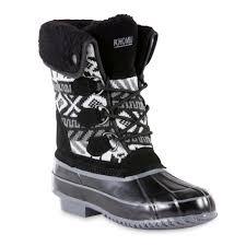 khombu womens boots sale khombu s mayana winter weather boot black white