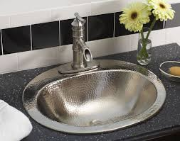 sinkology bod 0903brn dalton drop in handcrafted bathroom sink 20