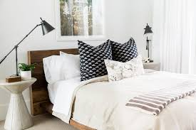 Guest Bedroom Bedding - modern mountain home tour guest wing u2014 studio mcgee