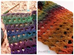 broomstick lace infinity scarf broomstick lace infinity scarf a pattern