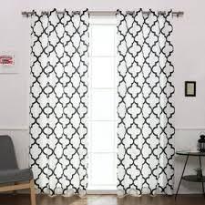 Moroccan Print Curtains Black Curtains U0026 Drapes Joss U0026 Main