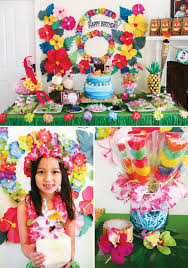 luau birthday party tropical oasis hawaiian luau birthday party hostess with the