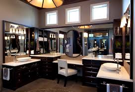designer master bathrooms chic sheik a his and hers lifestyle home traditional design