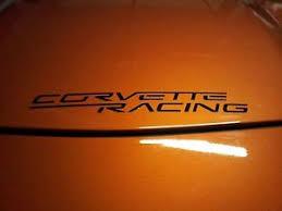 corvette racing stickers corvette racing decal sticker medium x2 pair c7 c6r z06 zr1