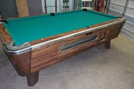 Valley Pool Tables by Valley 7 Ft Coin Op Pool Table Pt158 U2013 Thomas Games