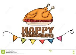 thanksgiving dinner cartoon pics happy thanksgiving day banner sign with a cooked turkey in a dish
