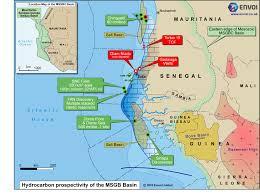 Dakar Senegal Map Map U2013 Bissau Exploration Co