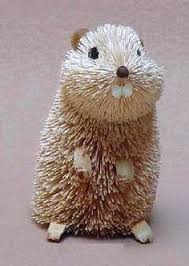 brushart bristle brush ornament hedgehog s shower