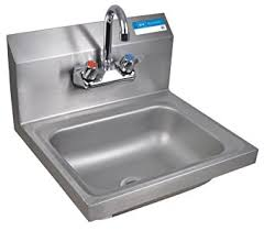 wall mount stainless steel sink bk resources wall mount stainless steel hand sink with 4 on center
