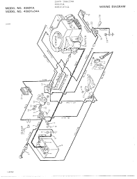craftsman riding mower electrical diagram wiring arresting lawn