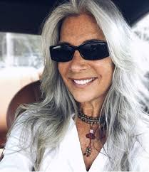 stylish cuts for gray hair image result for stylish woman on instagram with long gray hair in