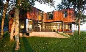 modern cottage design modern cottage design flaunting an inverted floor plan freshome com