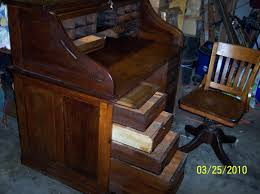 Roll Top Desk Antique I Own An Antique Cutler Roll Top In Excellent Condition American
