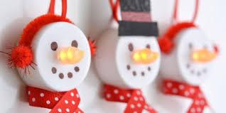tea light snowmen tea light ornaments