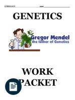 mendelian genetics worksheet genotype dominance genetics