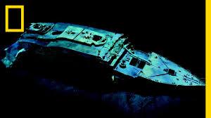 robert ballard restore the titanic nat geo live youtube