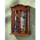 Curio Cabinets Under 200 Amazon Com 100 To 200 Display U0026 Curio Cabinets Accent