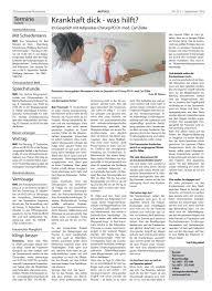 Chirurg Bad Kreuznach Kw 35 16 By Kreuznacher Rundschau Issuu