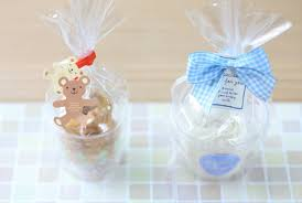 party favor bags plain transparent cookie bags cellophane bags wedding favors