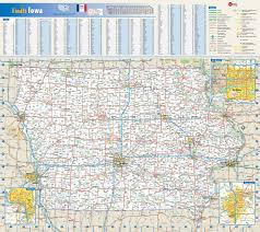 Map Of National Parks In Usa Large Detailed Roads And Highways Map Of Iowa State With National