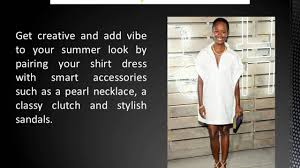 how to wear plus size women shirt dresses this summer youtube