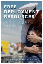 free deployment resources for military home front families