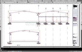 design of light gauge steel structures pdf steel frame hangar complete design drawings cad dwg dxf and pdf