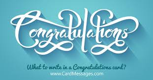 congrats on your new card what to write in a congratulations card card messages
