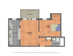 small apartment floor plans one bedroom bestsur restaurant plan