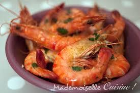 cuisine crevette crevettes à l ail et à la coriandre à la portugaise recette de