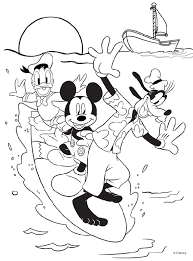 printable mickey mouse coloring pages coloring pages printable terrific color printouts simple free and