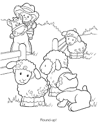 25 farm coloring pages ideas kids