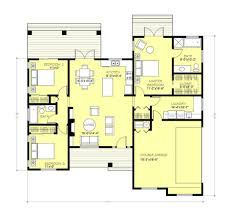 3 bed room house plan bedroom 2 bath 1600 sq ft plans india for