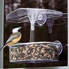 clear plastic window bird feeder observer window feeder owf droll yankees