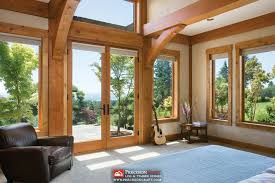 master bedroom suite i washington timber frame home i