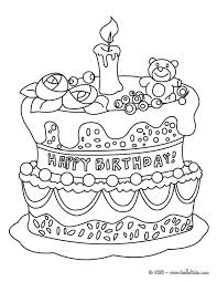 sympho page 4 coloring birthday cards cute cat coloring pages