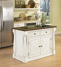 homestyle kitchen island amazon com home styles 5002 94 kitchen island white and