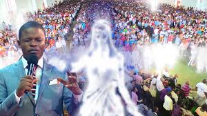 angels appear live on camera in church during deliverance prophet