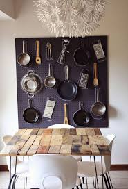 kitchen pegboard ideas pegboard for pot rack giving extra storage and decor for your