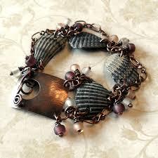battle saints bracelets copper glass and recycled trash bracelets