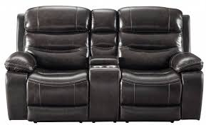 signature design pillement power reclining loveseat with console