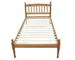 brand new 3ft single pine spindle bed frame with choice of