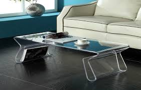 clear plastic console table easy clean acrylic coffee table ikea cole papers design