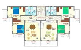 House Plans With Inlaw Apartment 1st Level Contemporary House Plan With Basement Apartment 3