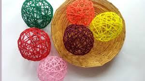 create decorative yarn balls diy home guidecentral