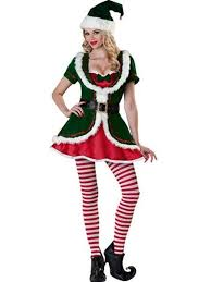 Halloween Elf Costumes Womens Holiday Honey Elf Costume Christmas Halloween Costumes