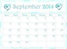 printable monthly planner september 2014 free printable calendars 2014 pretty monthly calendar templates to