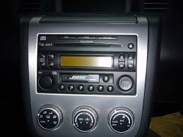nissan altima 2005 stereo nissan bose audio system with simple pictures 54260 linkinx com